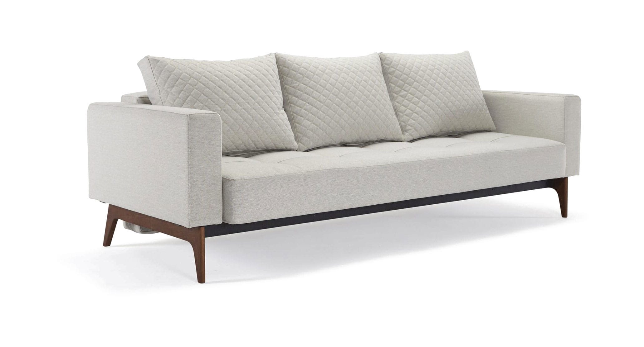 Cassius Quilt Sofa Bed Full Size Mixed Dance Natural By Innovation