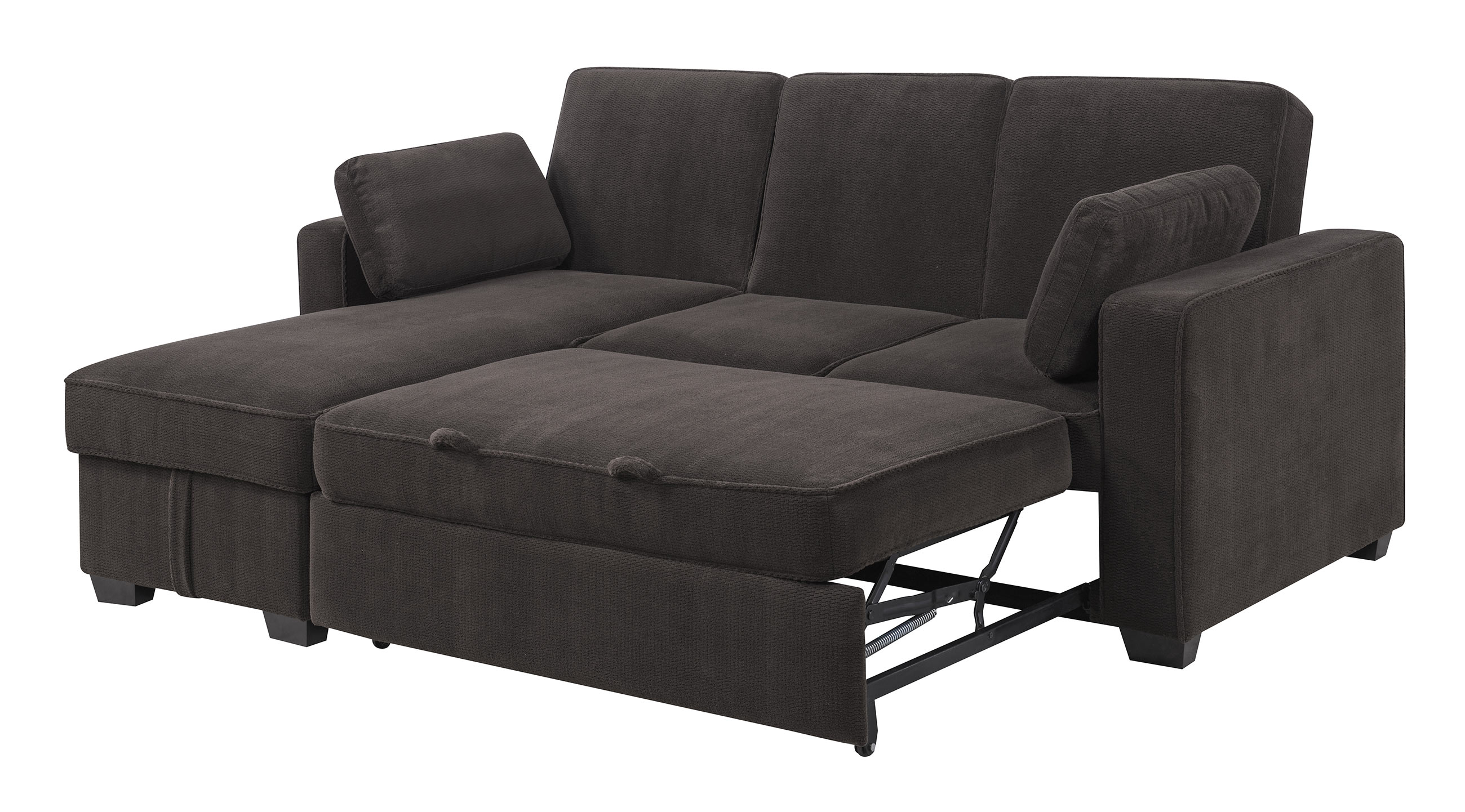 Beautiful serta convertible sofa marmsweb marmsweb for Beeson fabric queen sleeper chaise sofa