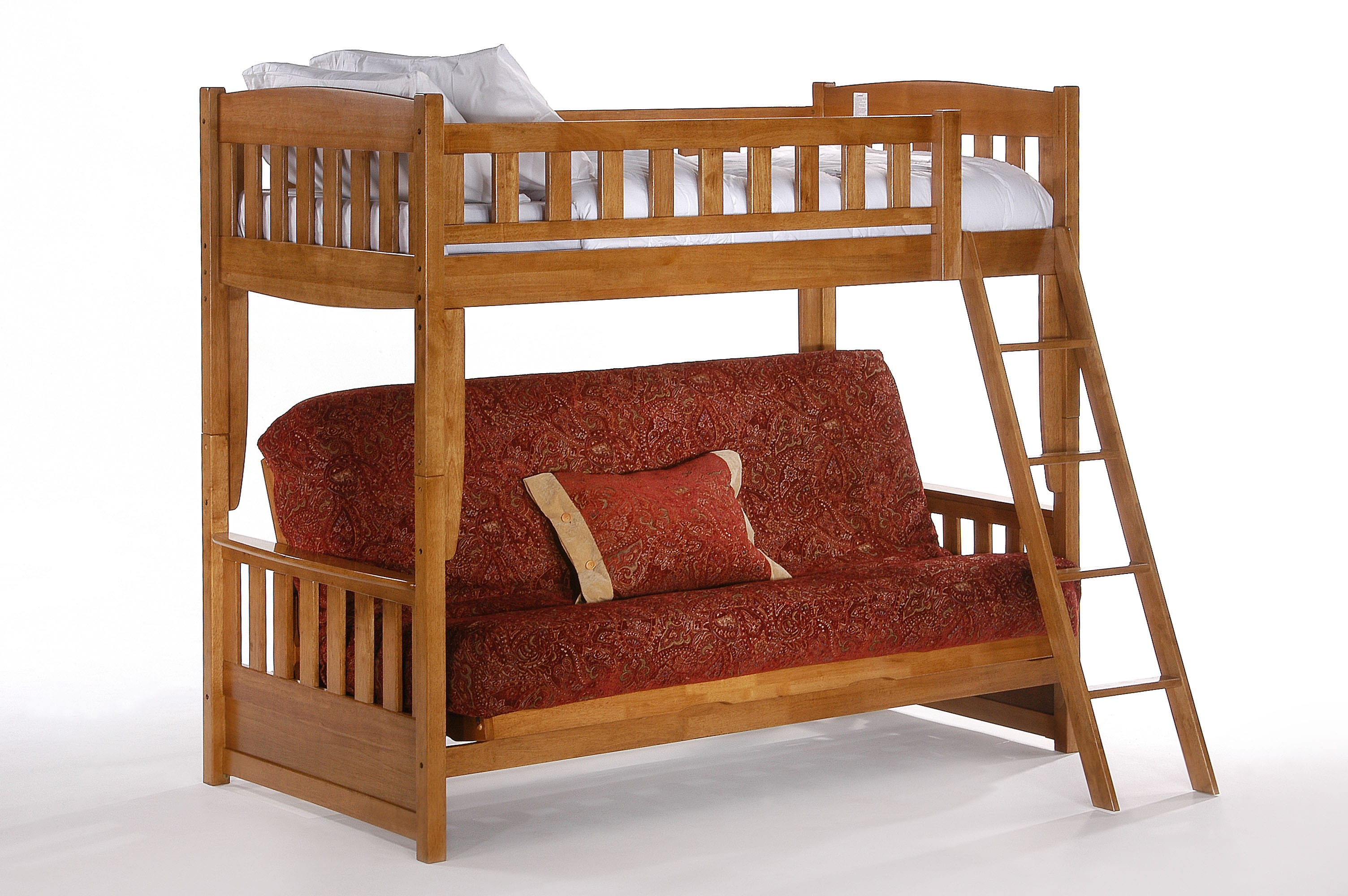 Cinnamon Futon Bunk Bed By Night Day Furniture