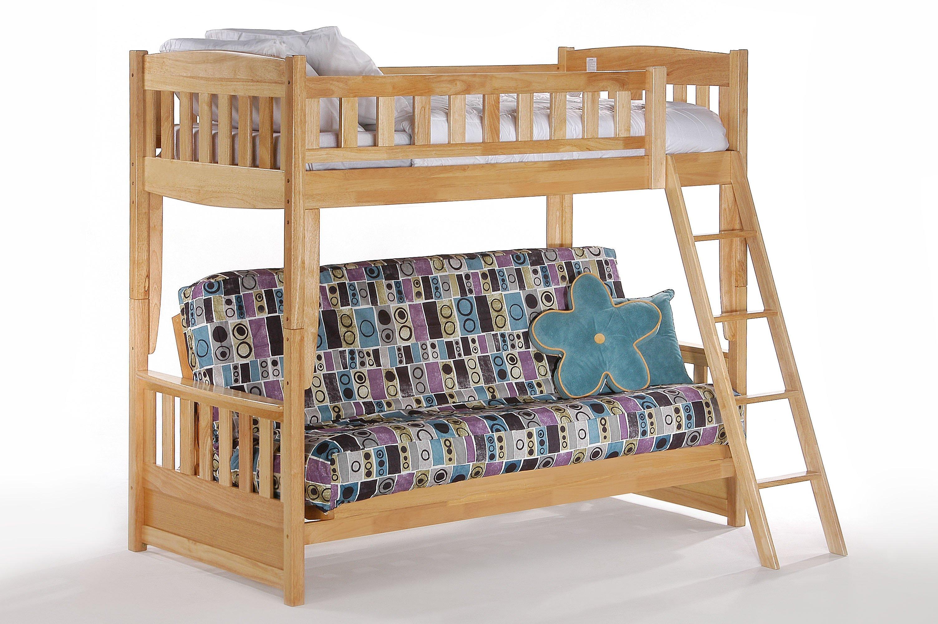 Cinnamon Futon Bunk Bed By Night Day Furniture