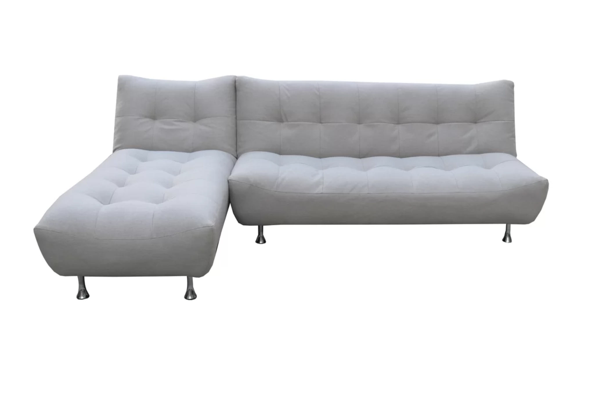Cloud Sandstone Gray Sofa Bed W/Optional Chaise