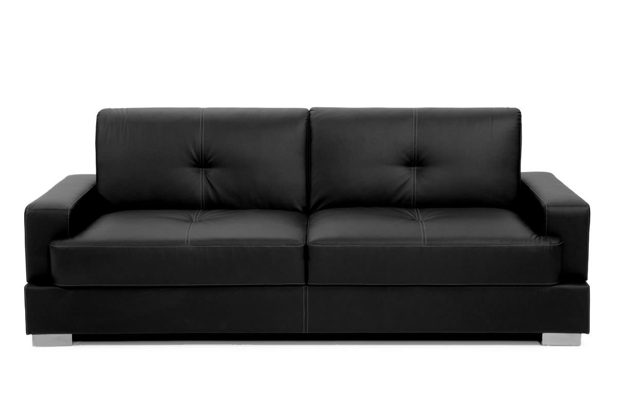 Coronado Sofa Bed Sleeper Black By Lifestyle Solutions