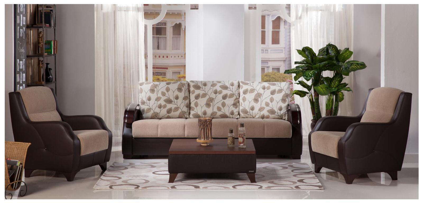 . Costa Armoni Vizon Sofa   2 Chairs Set by Sunset