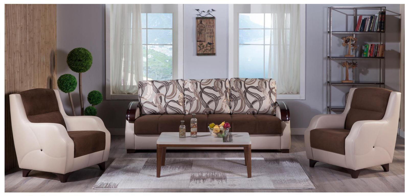 istikbal living room sets costa best brown sofa amp 2 chairs set by istikbal sunset 12920