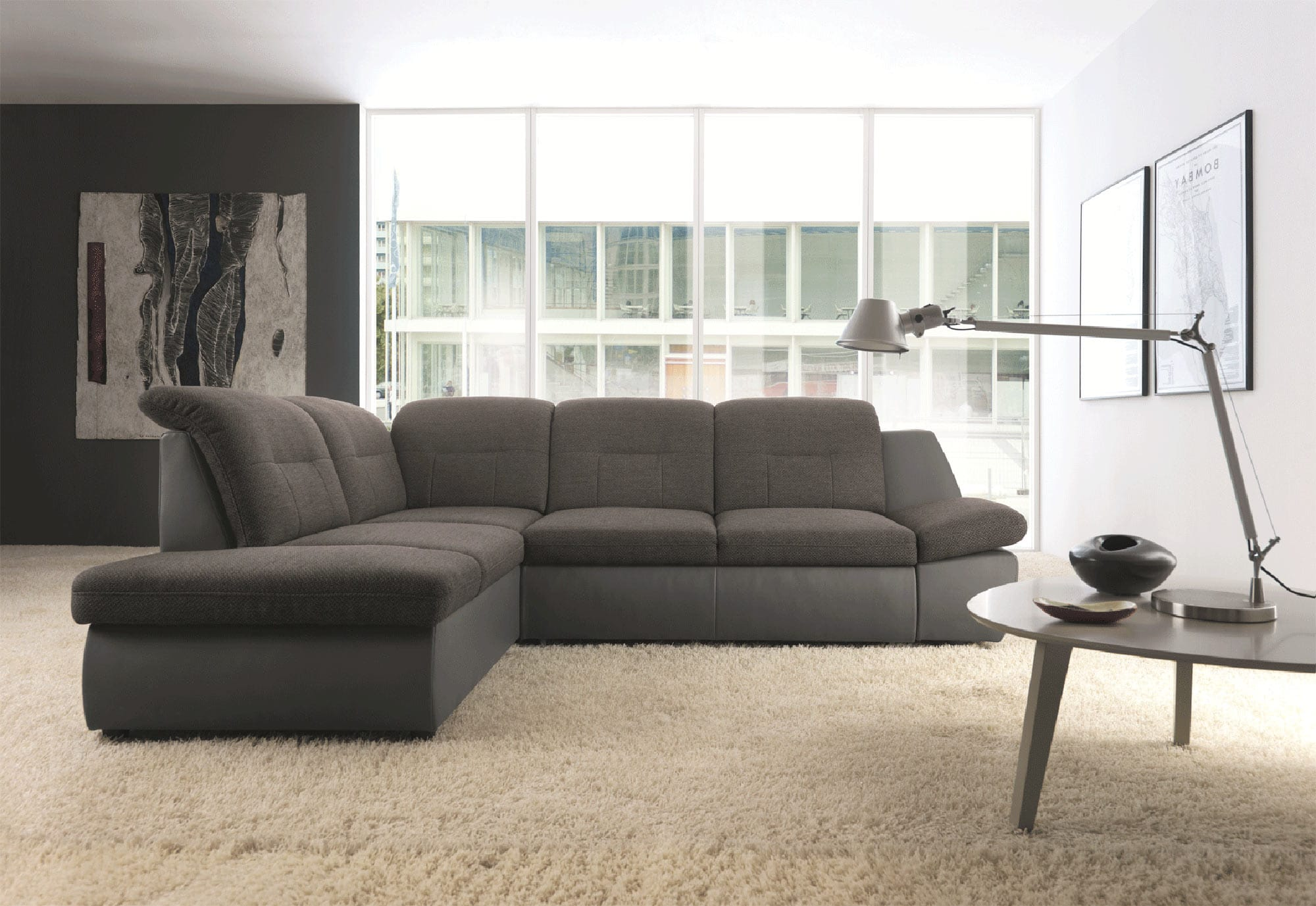 Tremendous Credo Sectional W Bed And Storage Left Facing By Esf Evergreenethics Interior Chair Design Evergreenethicsorg