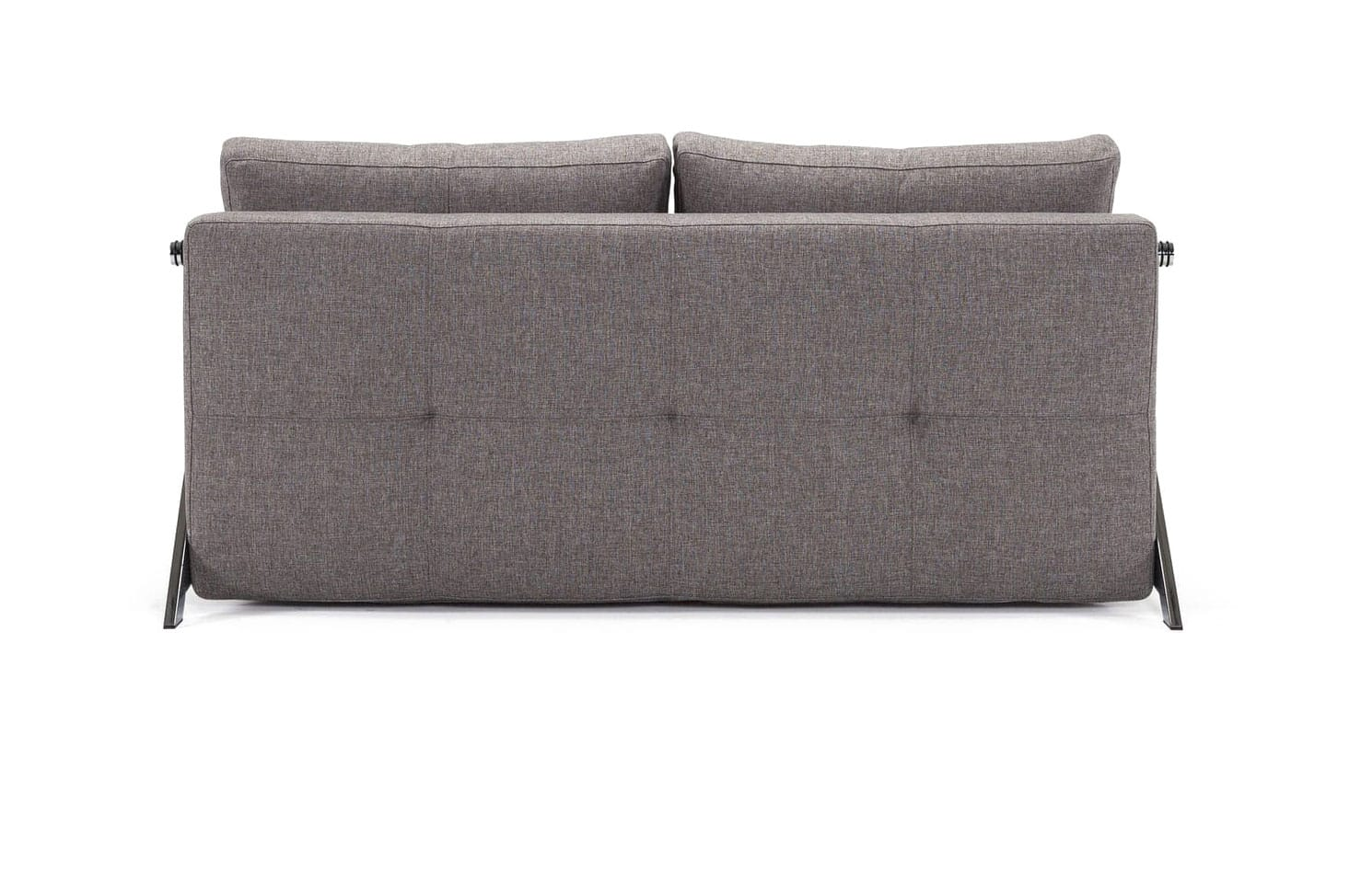 Cubed 02 Deluxe Sofa (Full Size) Mixed Dance Gray by Innovation