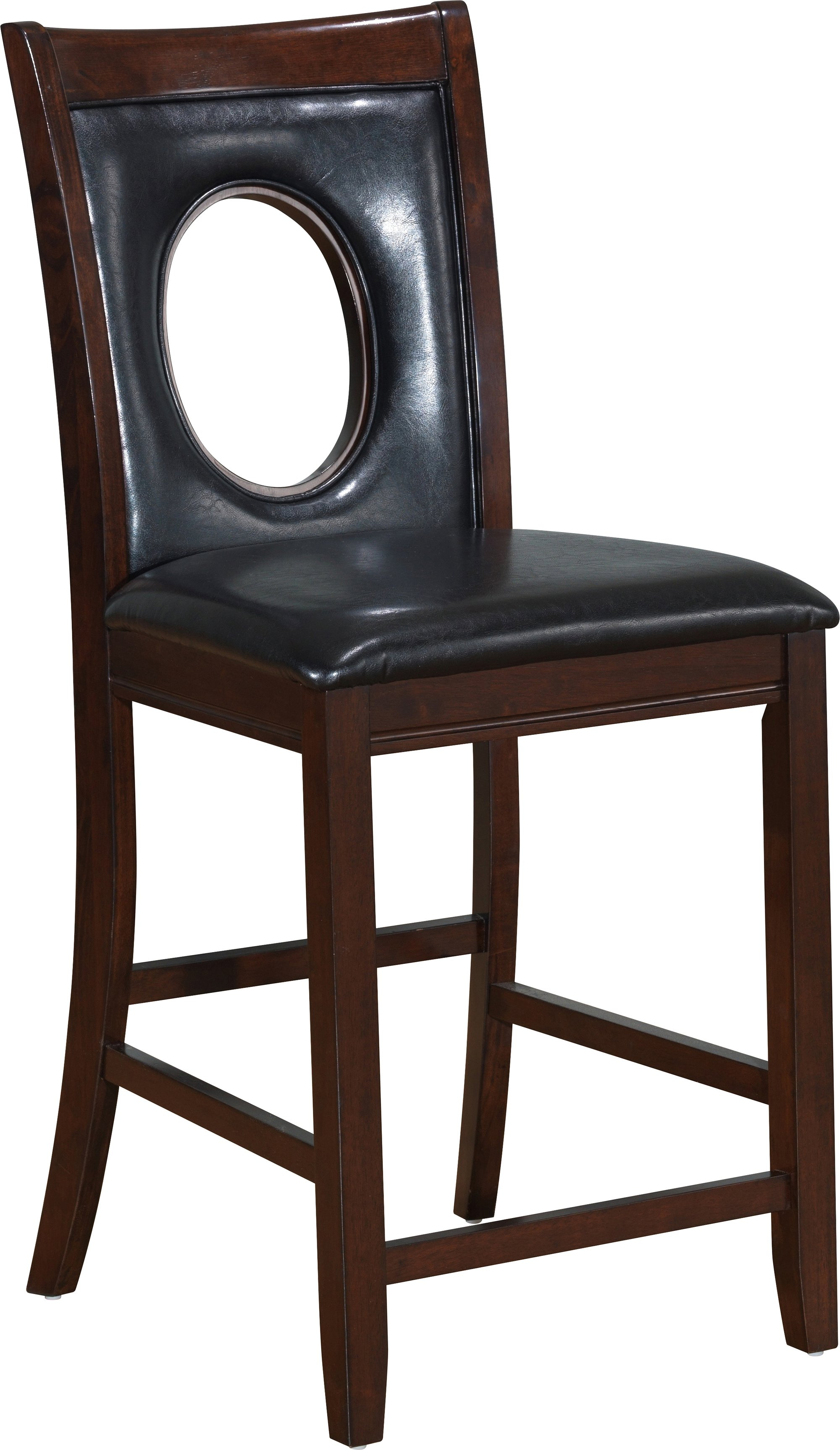 Bar Stool D1007 Cappuccino Set Of 2 By Global Furniture
