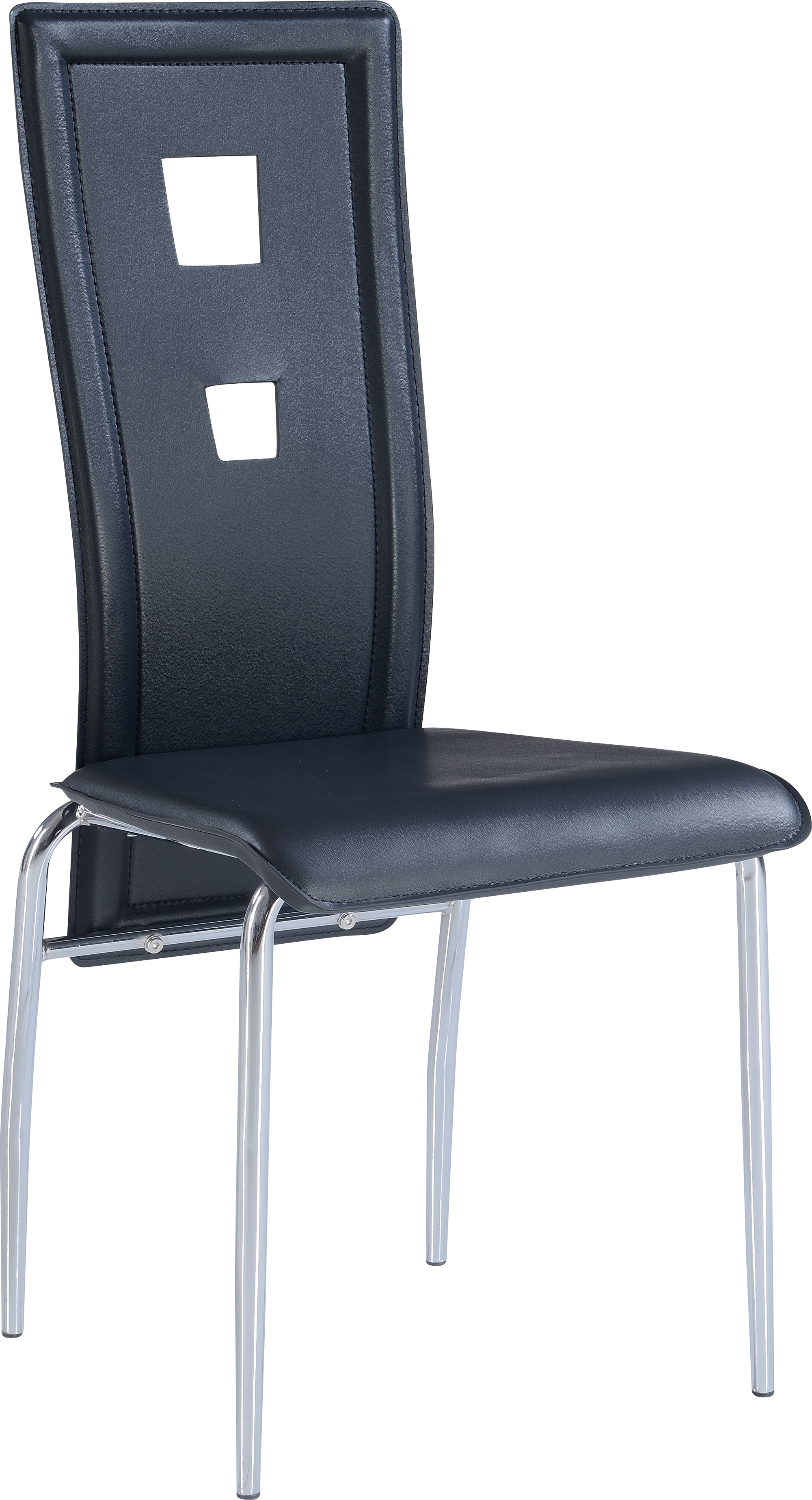 Dining Chair D1057DC Set of 2 Black by Global Furniture : D1057DC from futonland.com size 2000 x 3694 jpeg 2196kB
