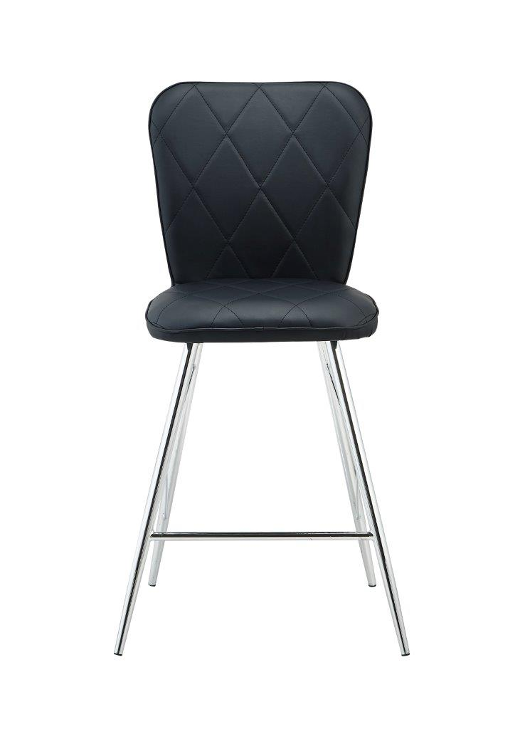Bar Stool D1066bs Set Of 2 Black By Global Furniture