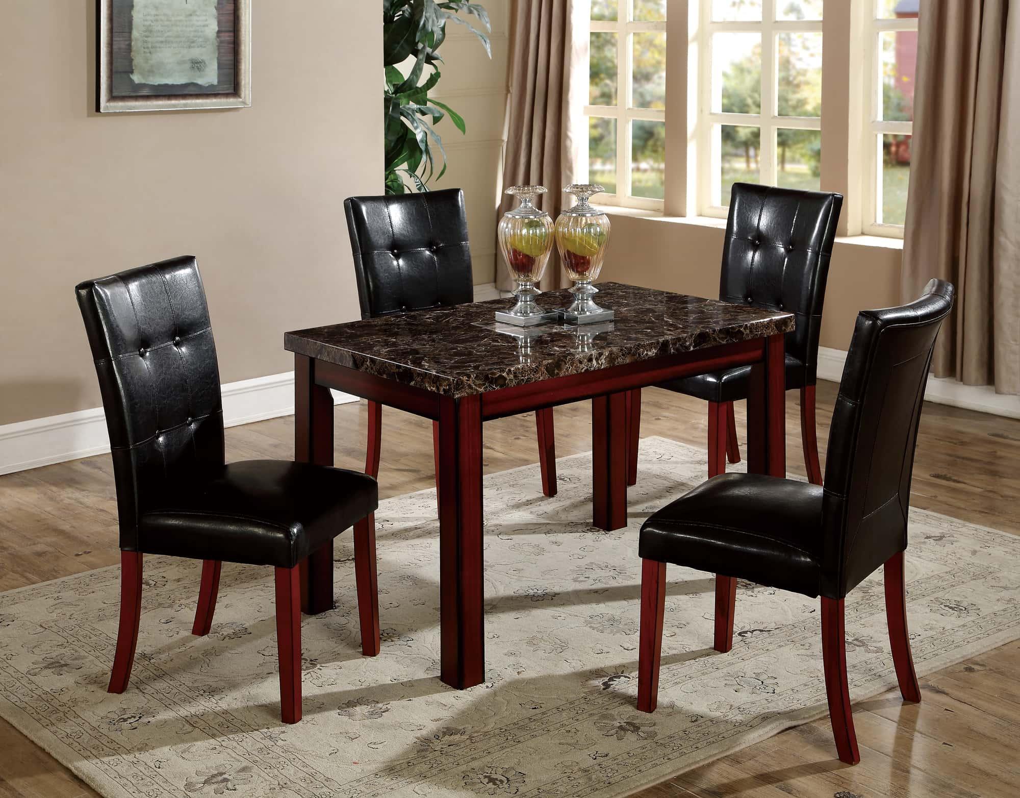 dining table d4048dt rhombus oak by global furniture. Black Bedroom Furniture Sets. Home Design Ideas