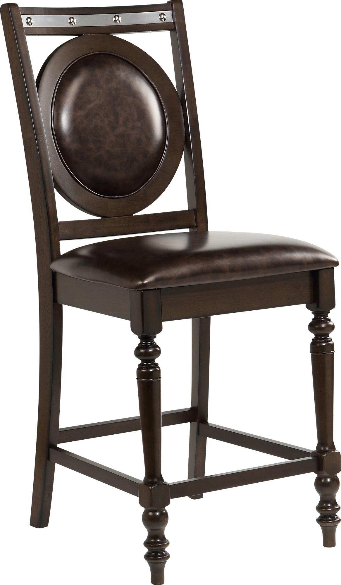 Bar Stool D4260 Elm Set Of 2 By Global Furniture