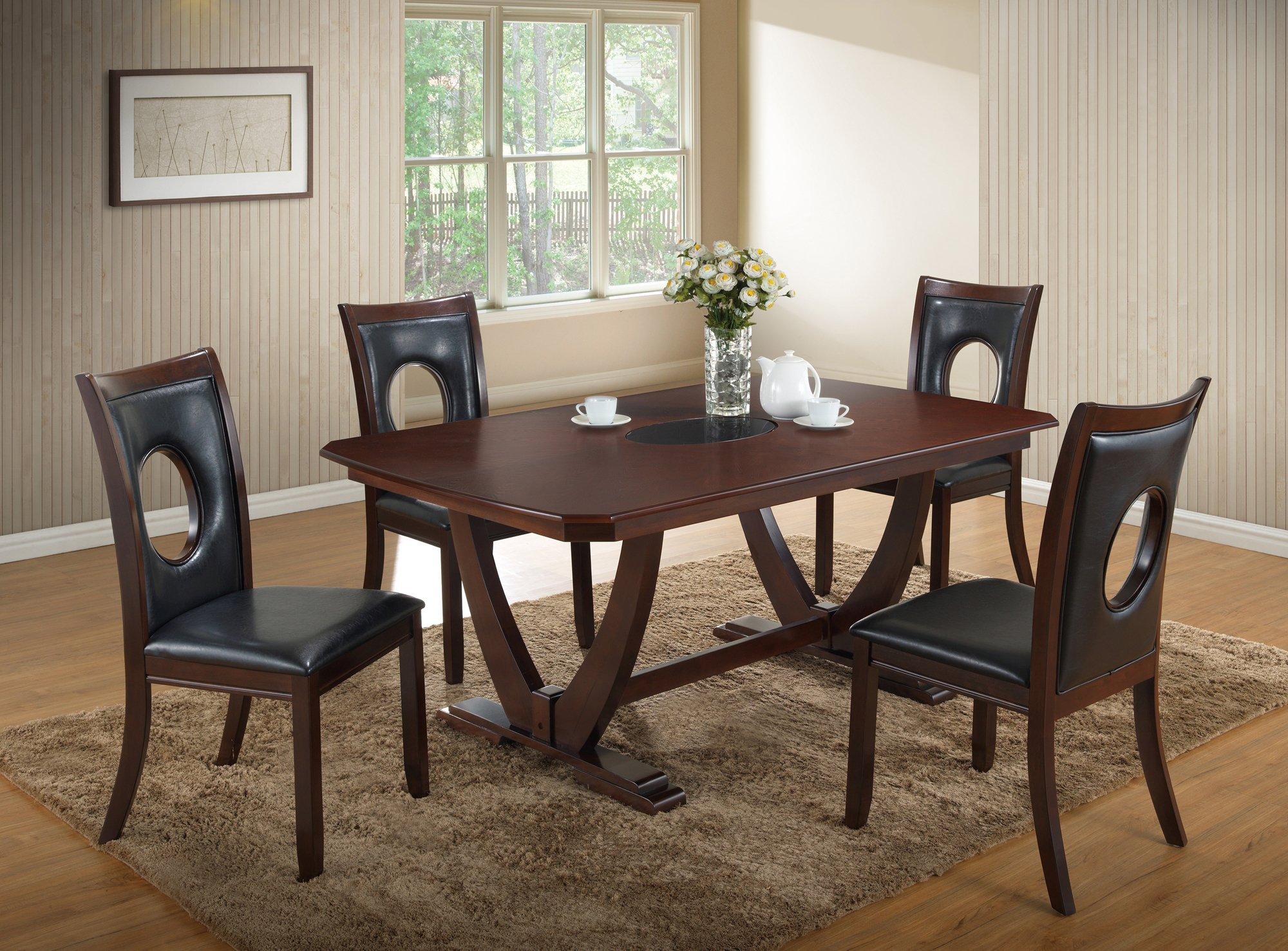 Dining Table D5003DT Cappuccino
