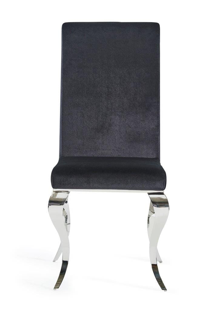 Awesome Dining Chair D858Dc Set Of 2 Black By Global Furniture Pabps2019 Chair Design Images Pabps2019Com
