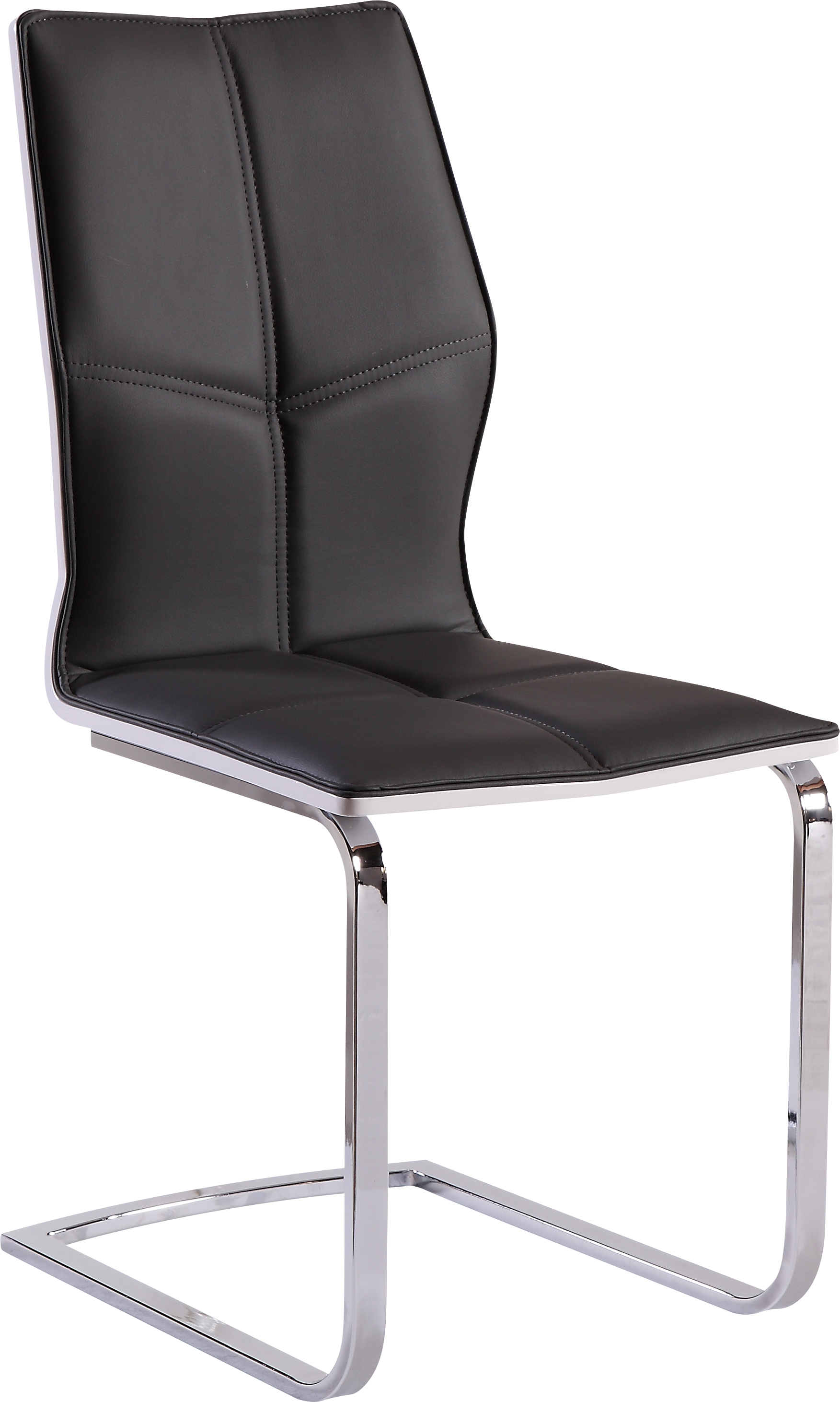 Dining Chair D8879DC Set of 2 Grey PUWhite HG by Global  : D8879DT from futonland.com size 1753 x 2923 jpeg 1126kB