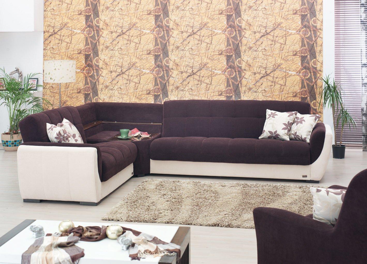 Dakota Sectional Sofa Set By Meyan Furniture