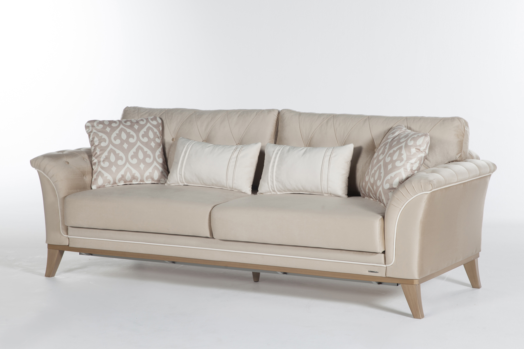 Dekora Zero Vizon Convertible Sofa Bed by Sunset