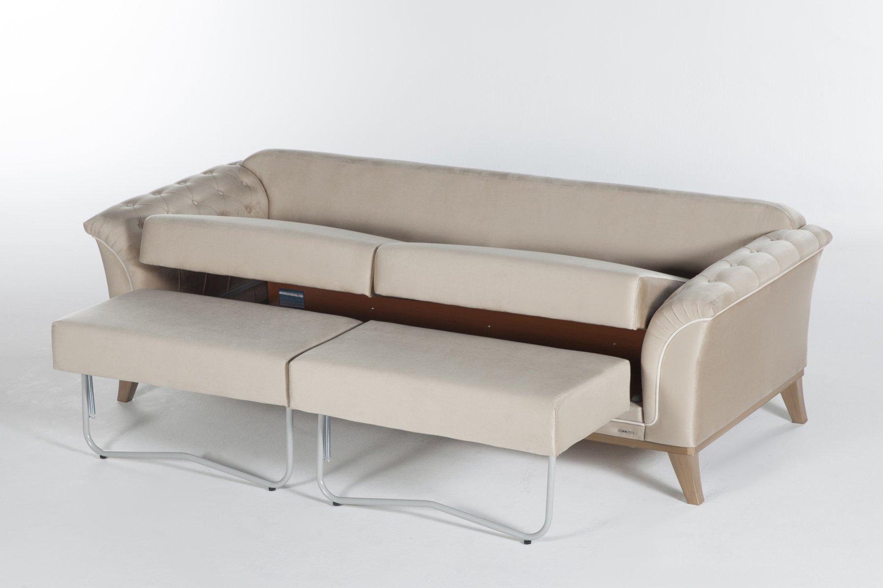 Dekora Zero Vizon Convertible Sofa Bed by Sunset