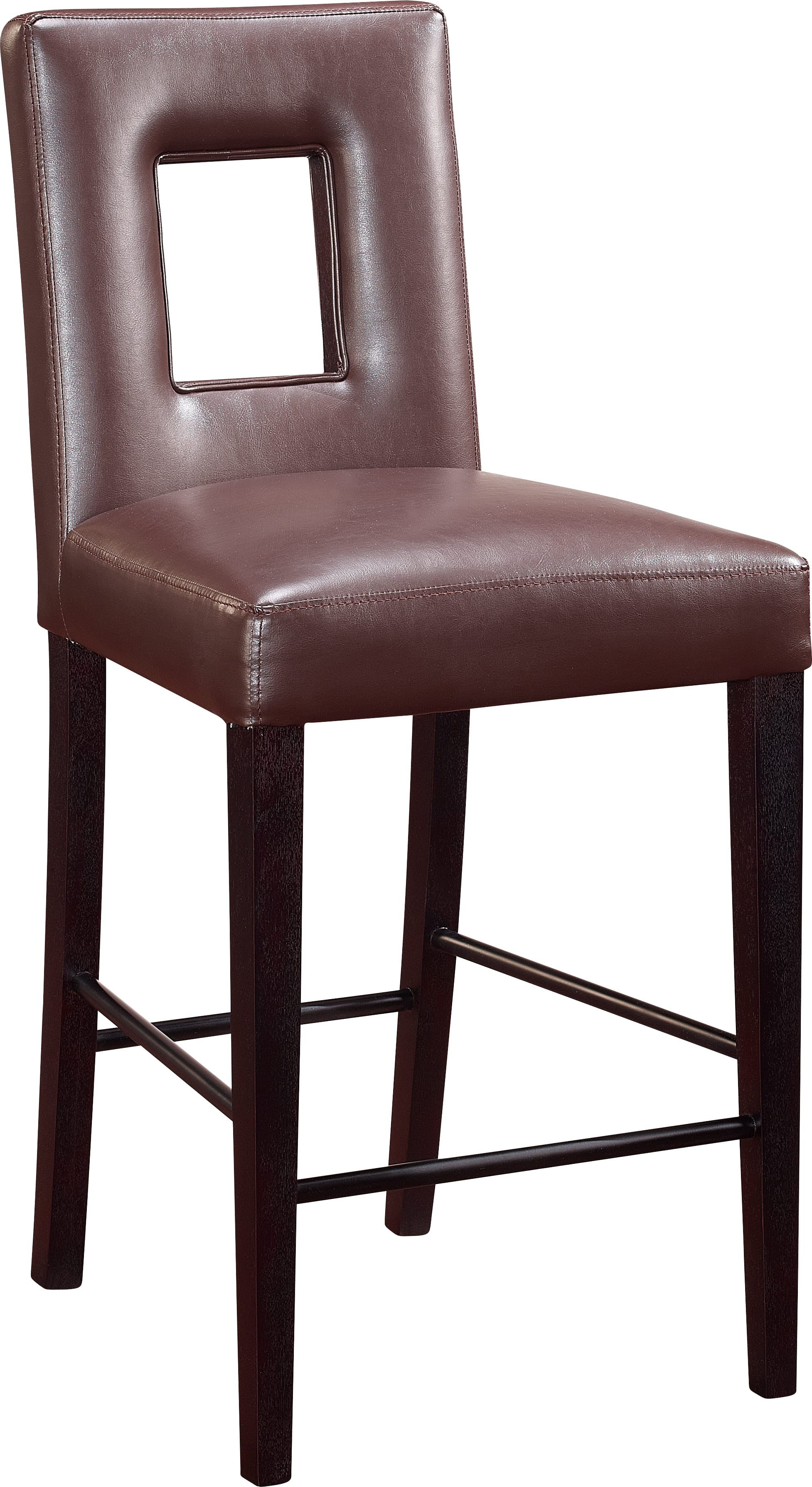 Bar Stool Dg072 Brown Set Of 2 By Global Furniture