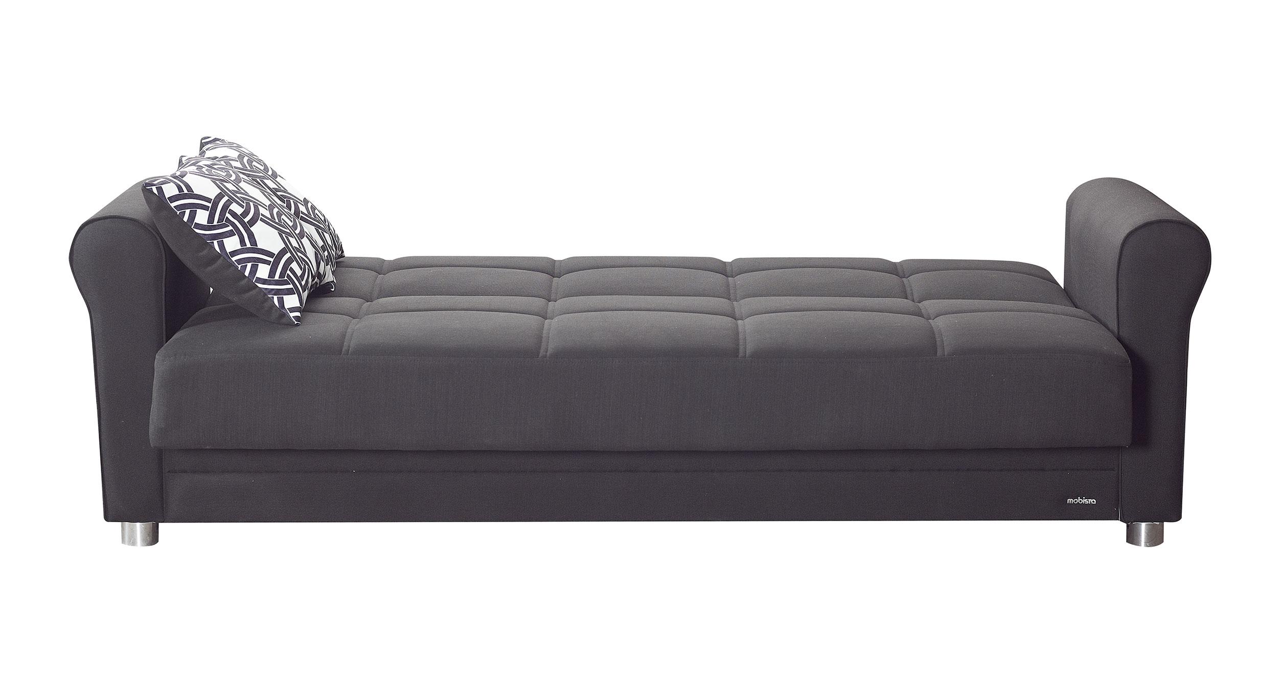 Divano Black Sofa Bed by Mobista