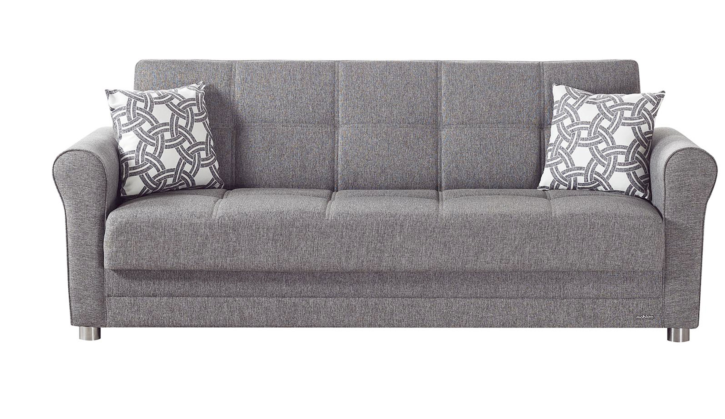 Divano gray sofa bed by mobista for Sofa divano
