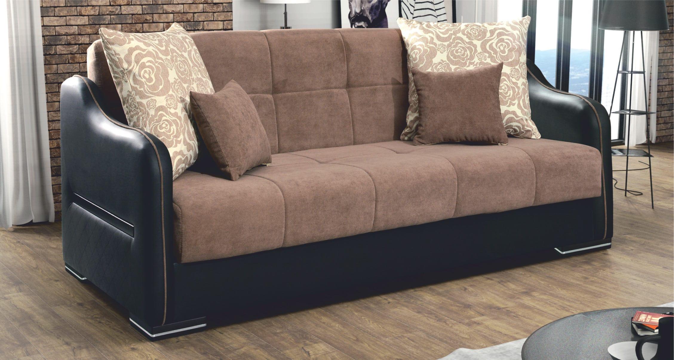 Daisy Brown Sofa Sleeper by Skyler Designs