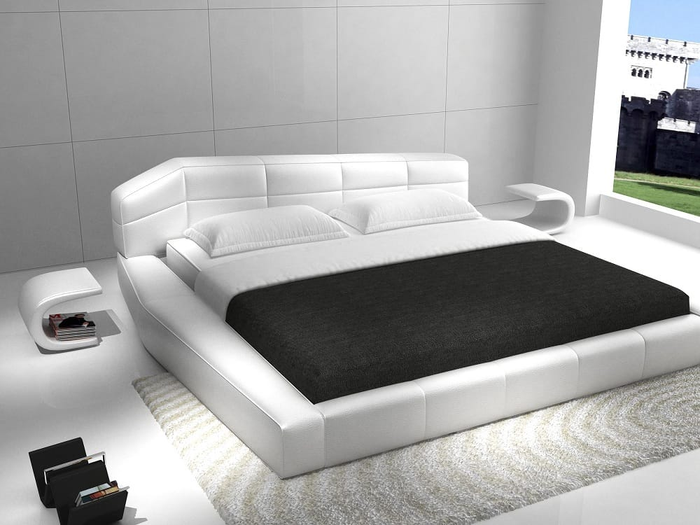 king size modern bed bedroom set by j amp m furniture 15761