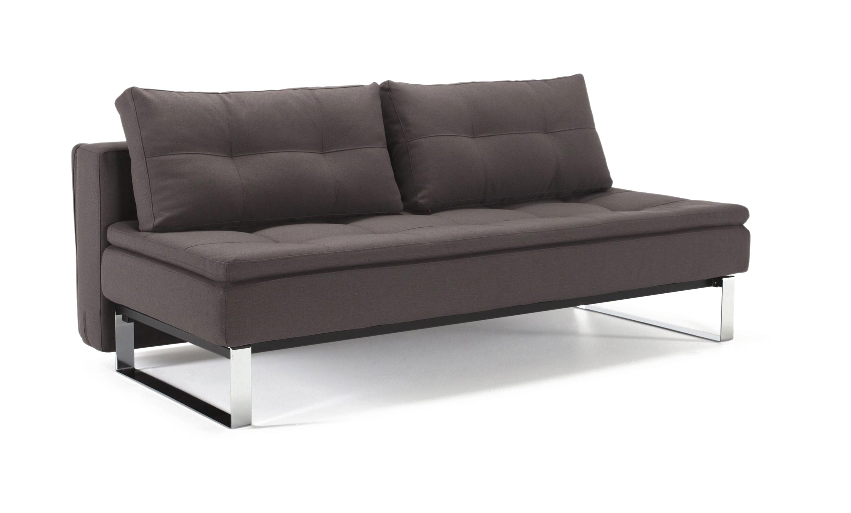 Supremax Dual Sofa Bed Full Size Soft Gray By Innovation