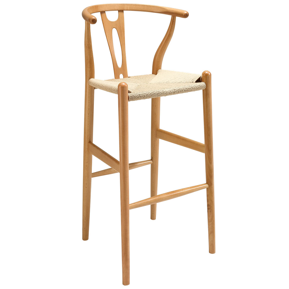 Amish Wood Bar Stool By Modway Furniture