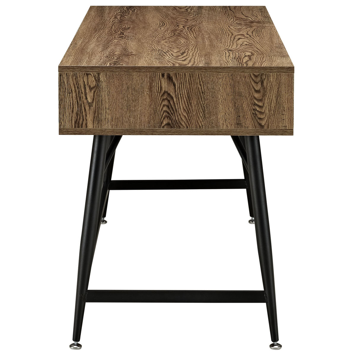 Surplus office desk walnut by modern living