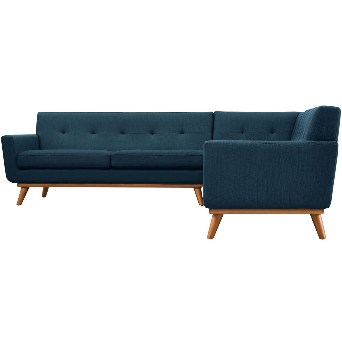Engage L-Shaped Sectional Sofa Azure by Modern Living