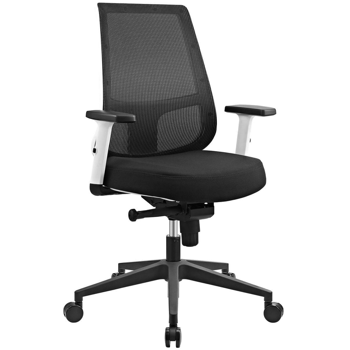 white frame office chair. pump white frame fabric office chair black e