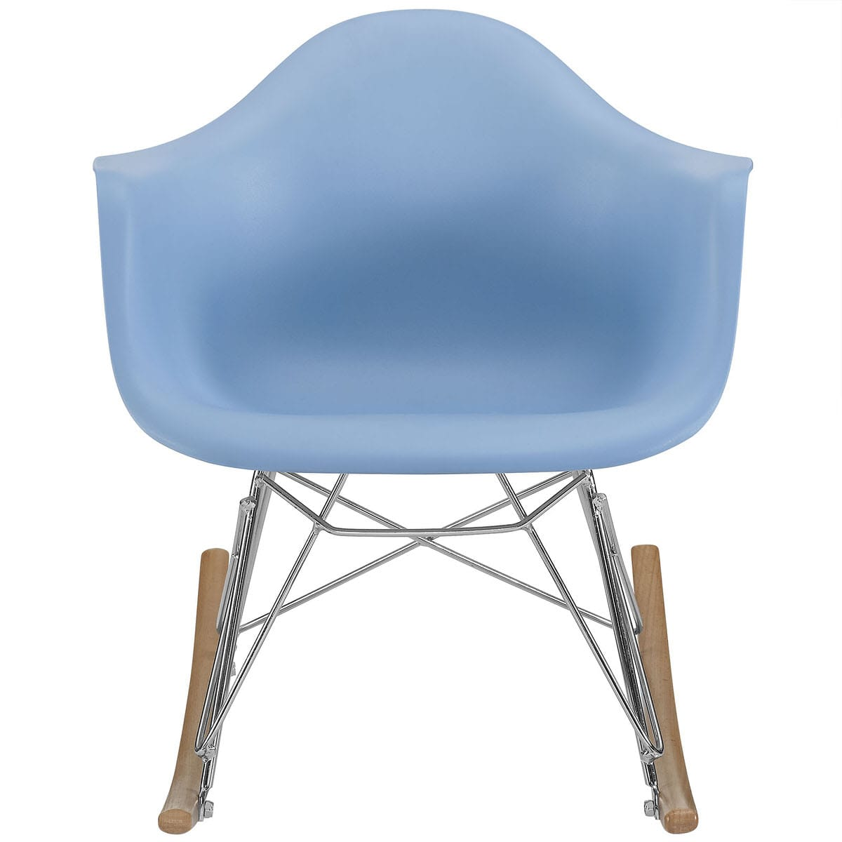 Fabulous Rocker Kids Chair Blue By Modern Living Machost Co Dining Chair Design Ideas Machostcouk