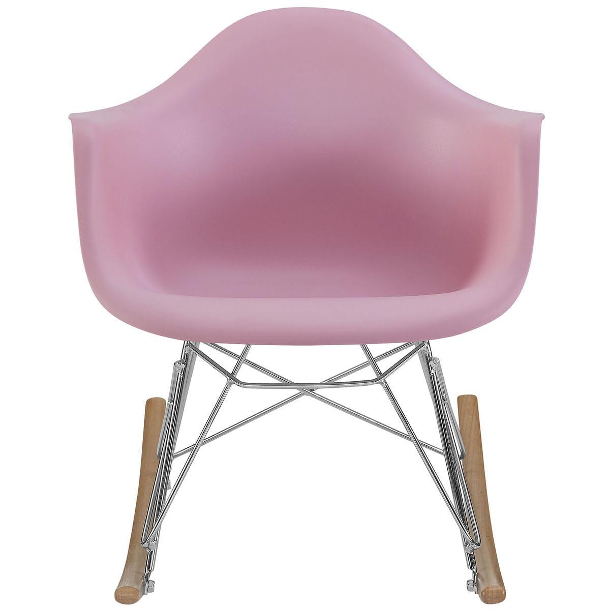 Enjoyable Rocker Kids Chair Pink By Modern Living Dailytribune Chair Design For Home Dailytribuneorg
