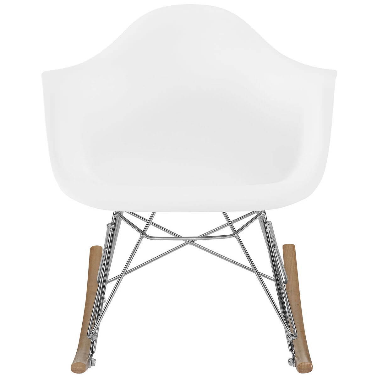 Peachy Rocker Kids Chair White By Modern Living Machost Co Dining Chair Design Ideas Machostcouk