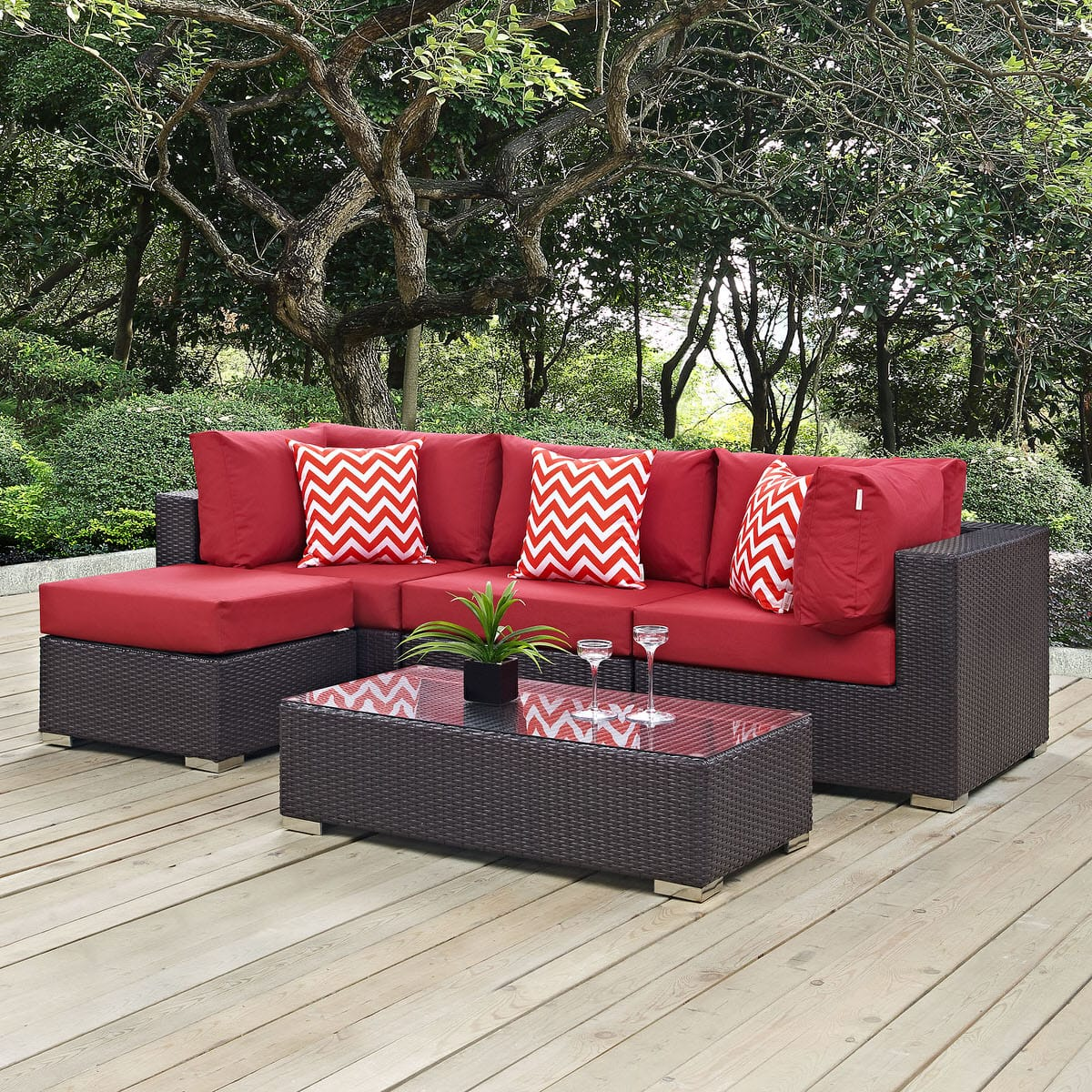 walmart set com sale patio sectional ip and homes seats gardens better outdoor sofa red piece rushreed