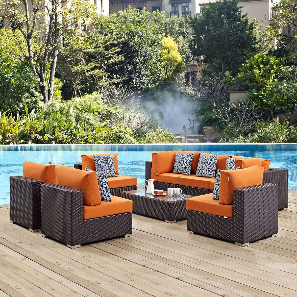 u product set outdoor patio sale icon for shape sectional contract amber sofa