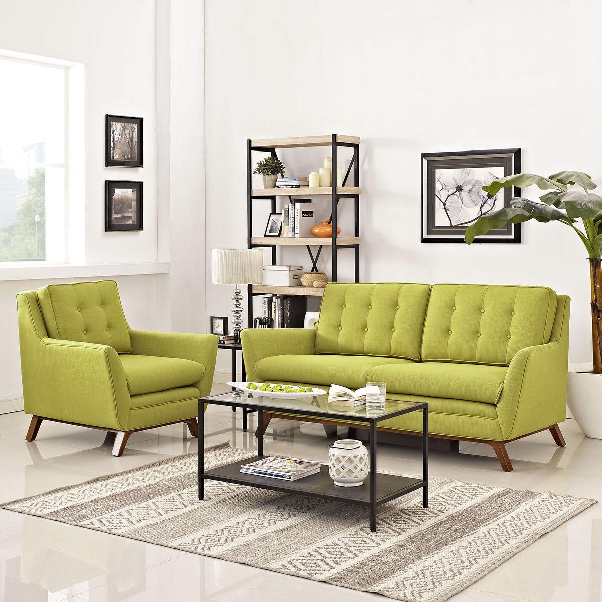 Beguile Living Room Set Upholstered Fabric