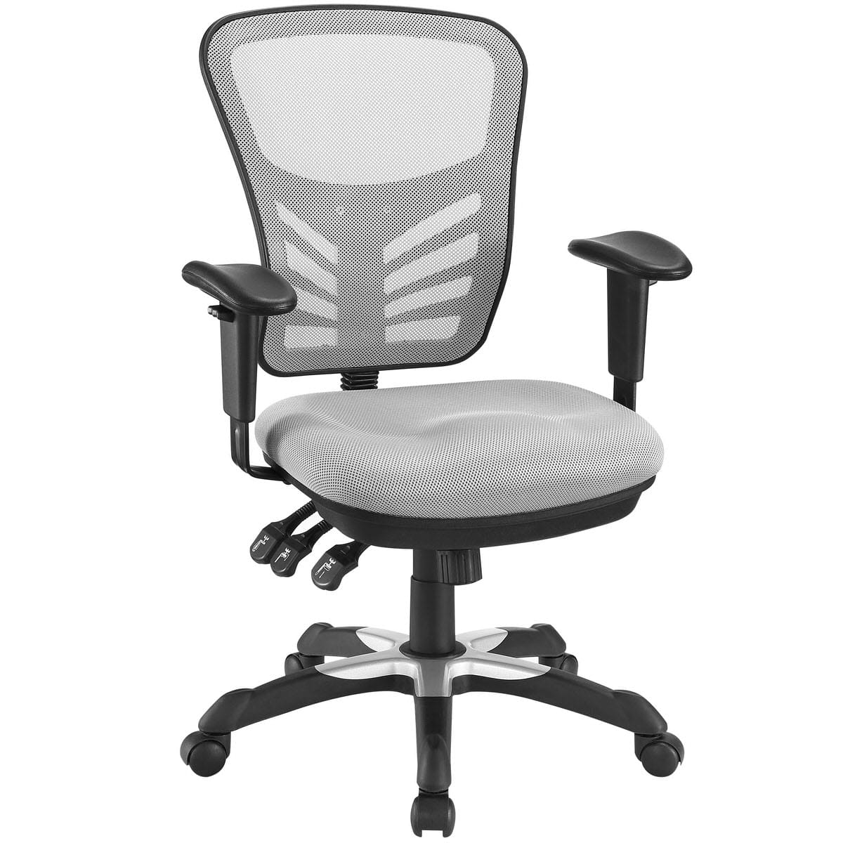 Articulate Mesh Office Chair Gray By Modern Living