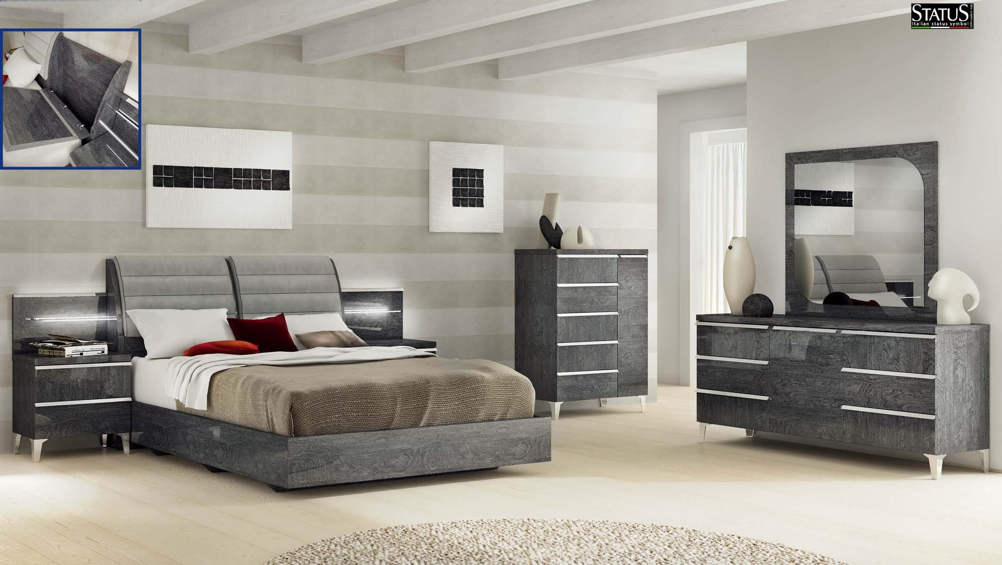 Image Result For Bedroom Grey