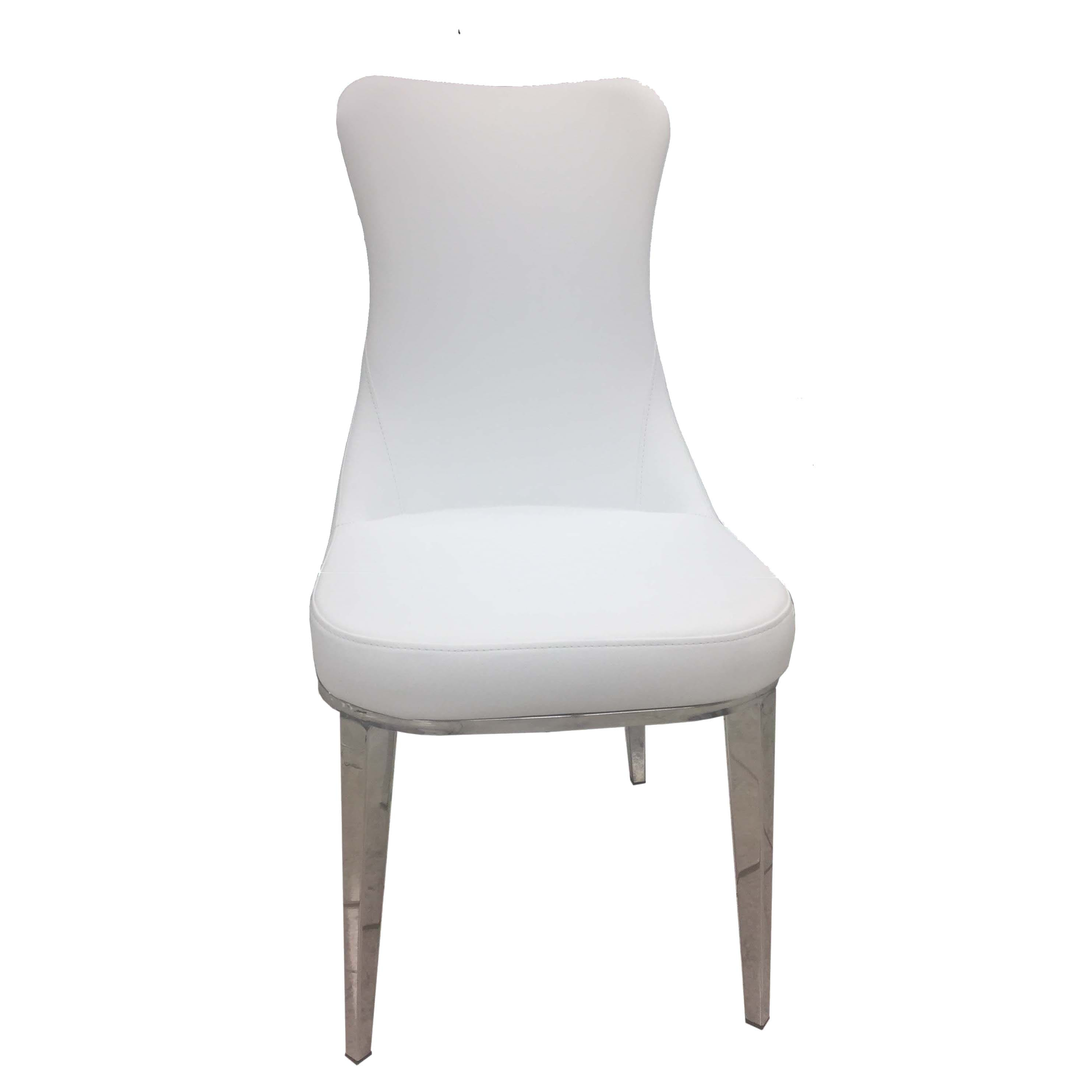 Excellent 6138 White Dining Chair Set Of 2 By Esf Andrewgaddart Wooden Chair Designs For Living Room Andrewgaddartcom