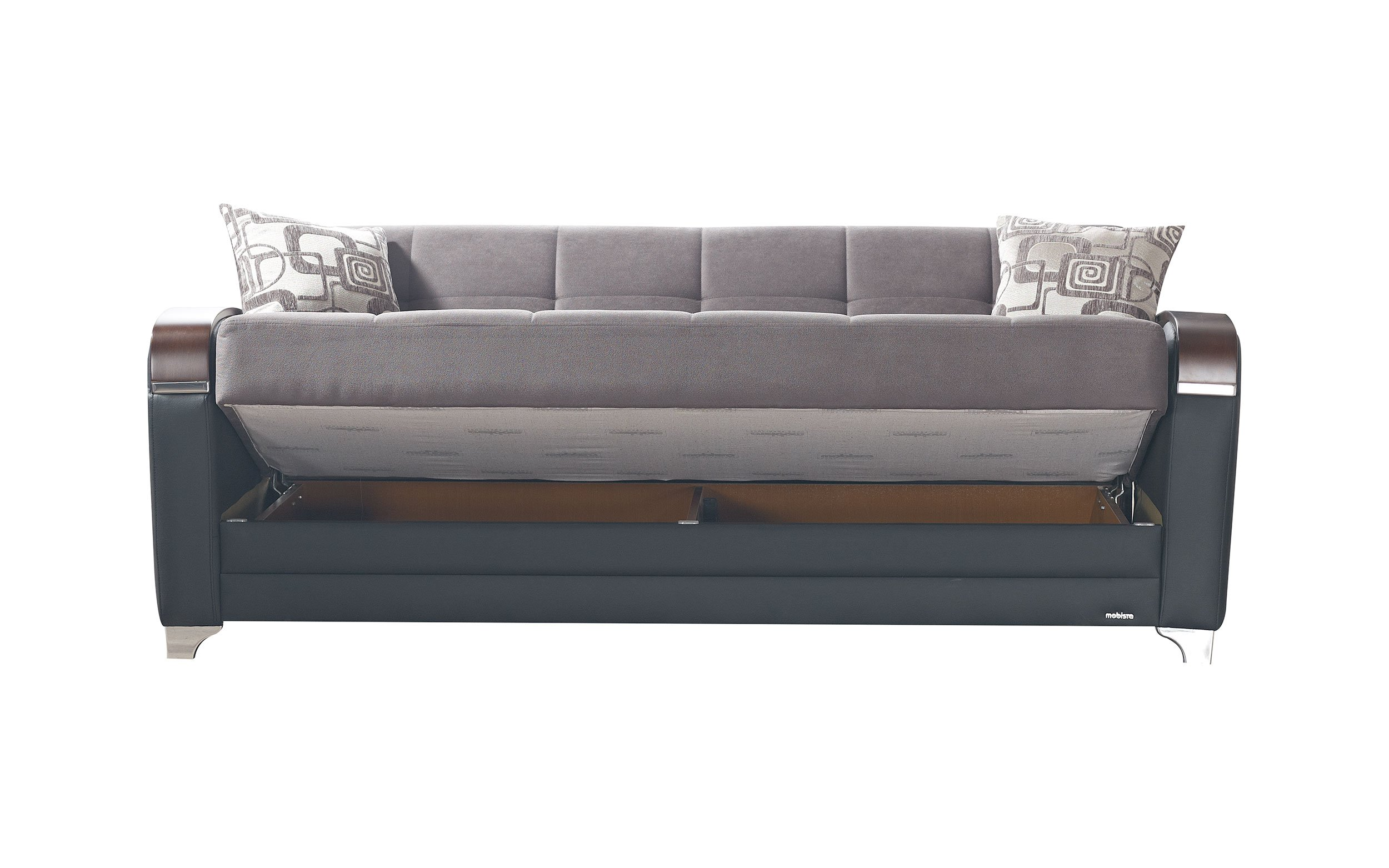 Etro Vintage Gray Fabric Sofa Bed by Mobista
