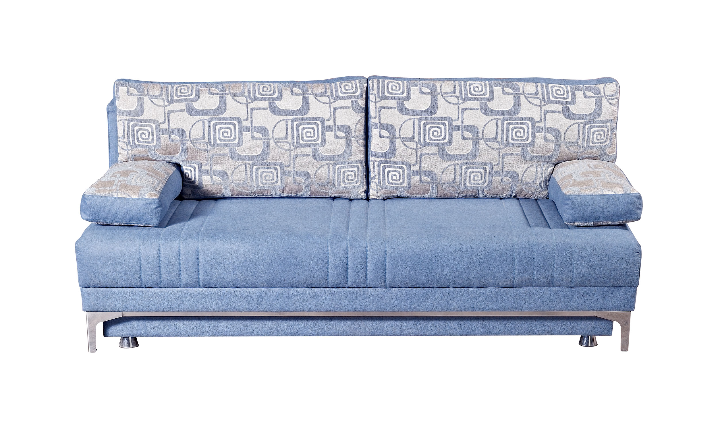 europa vintage blue queen size sofa bed by mobista. Black Bedroom Furniture Sets. Home Design Ideas
