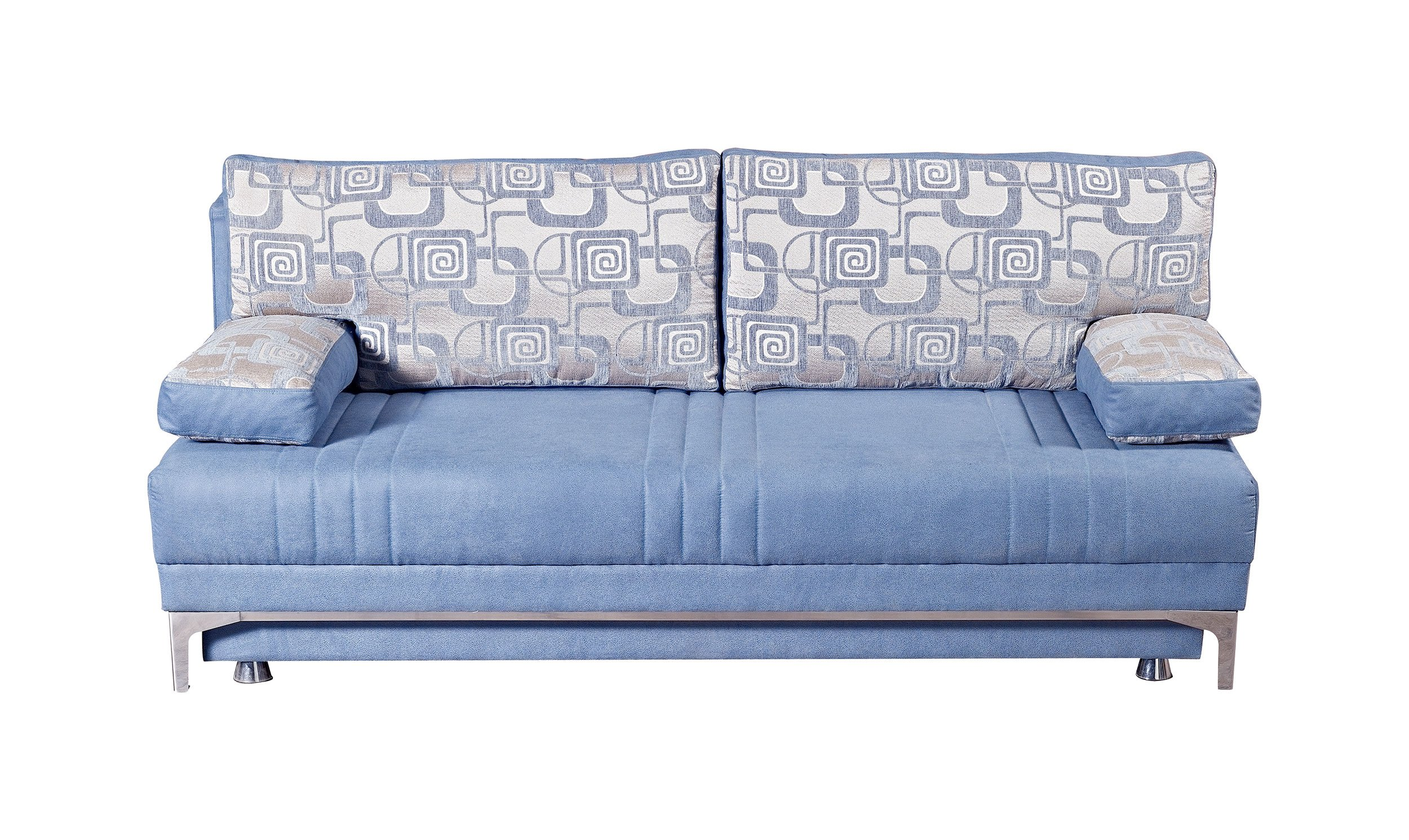 Europa vintage blue queen size sofa bed by mobista for Sofa bed queen size