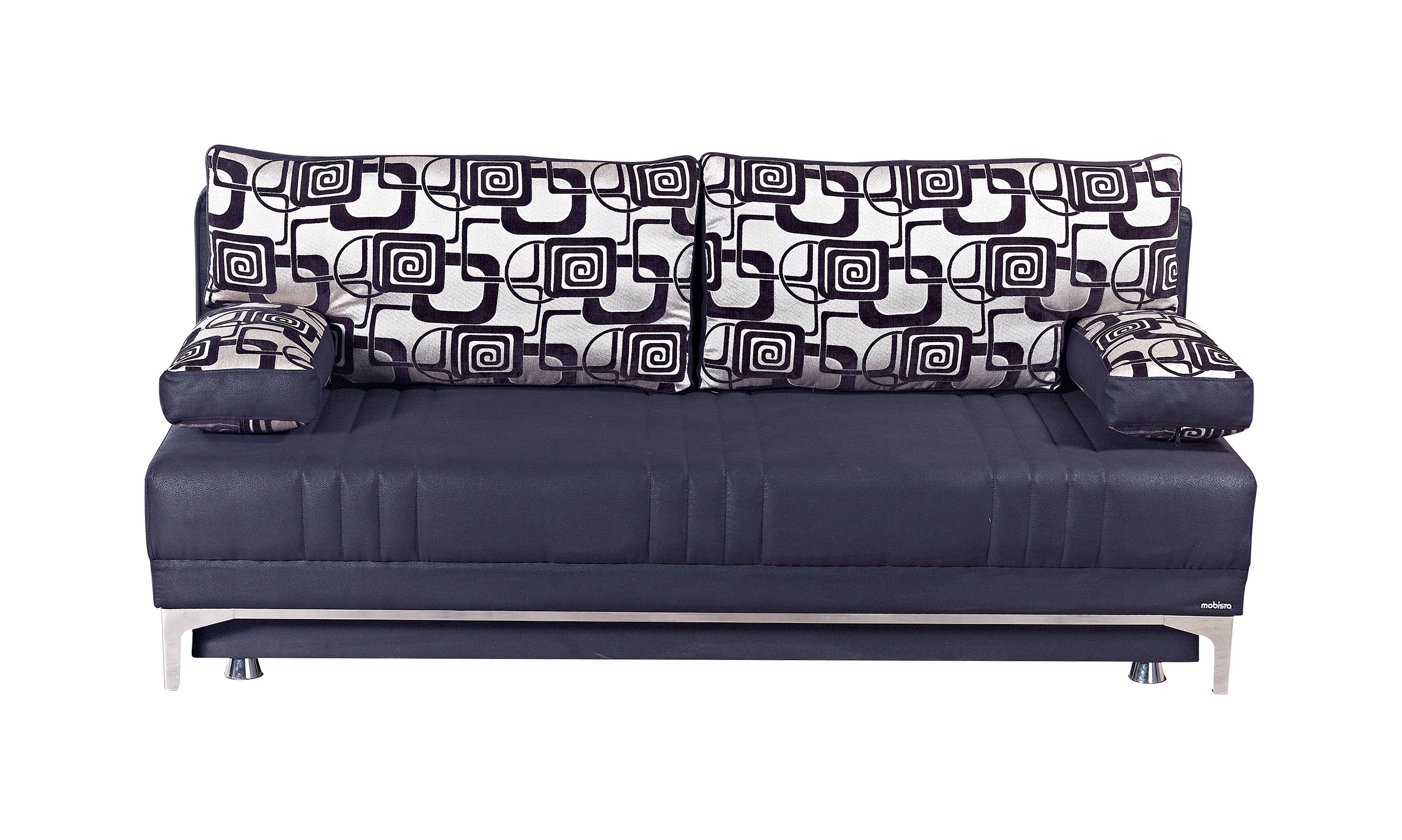 Europa Vintage Black Queen Size Sofa Bed By Mobista
