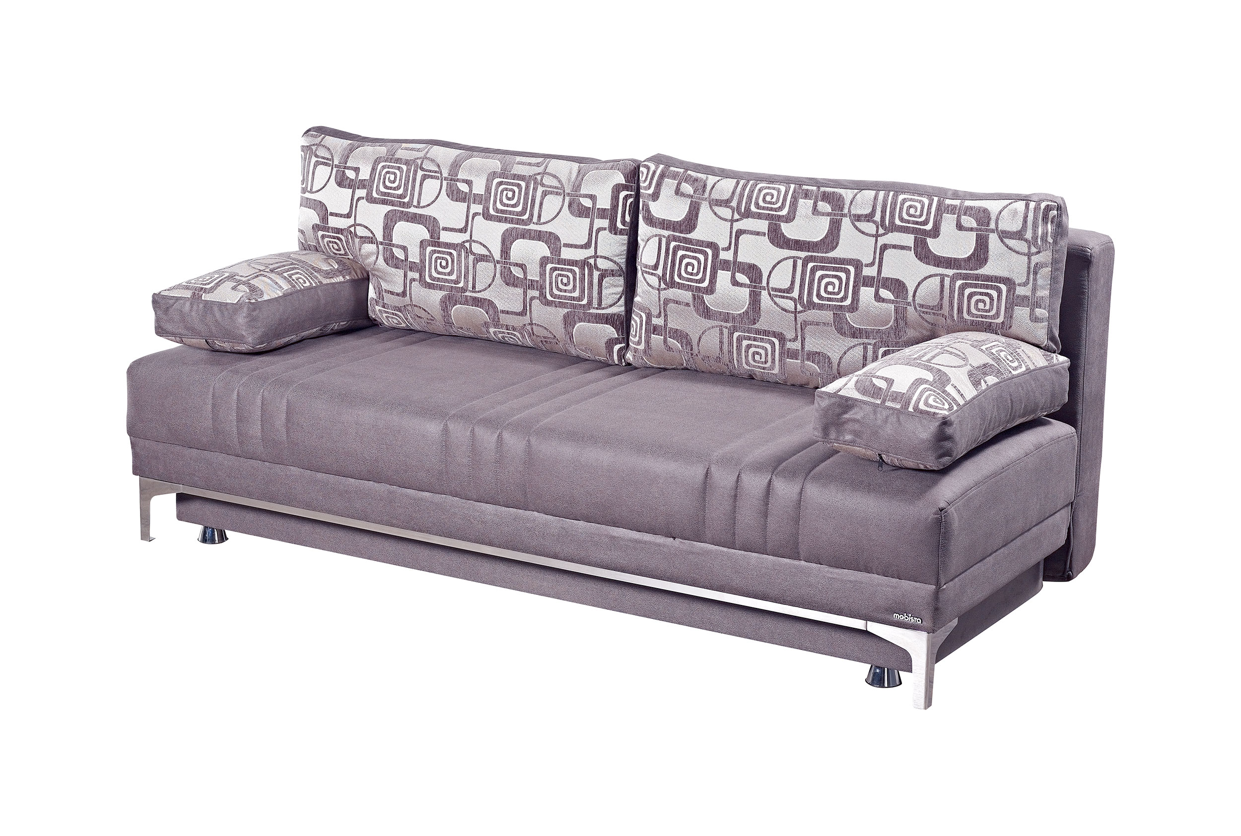 Europa Vintage Gray Queen Size Sofa Bed By Mobista