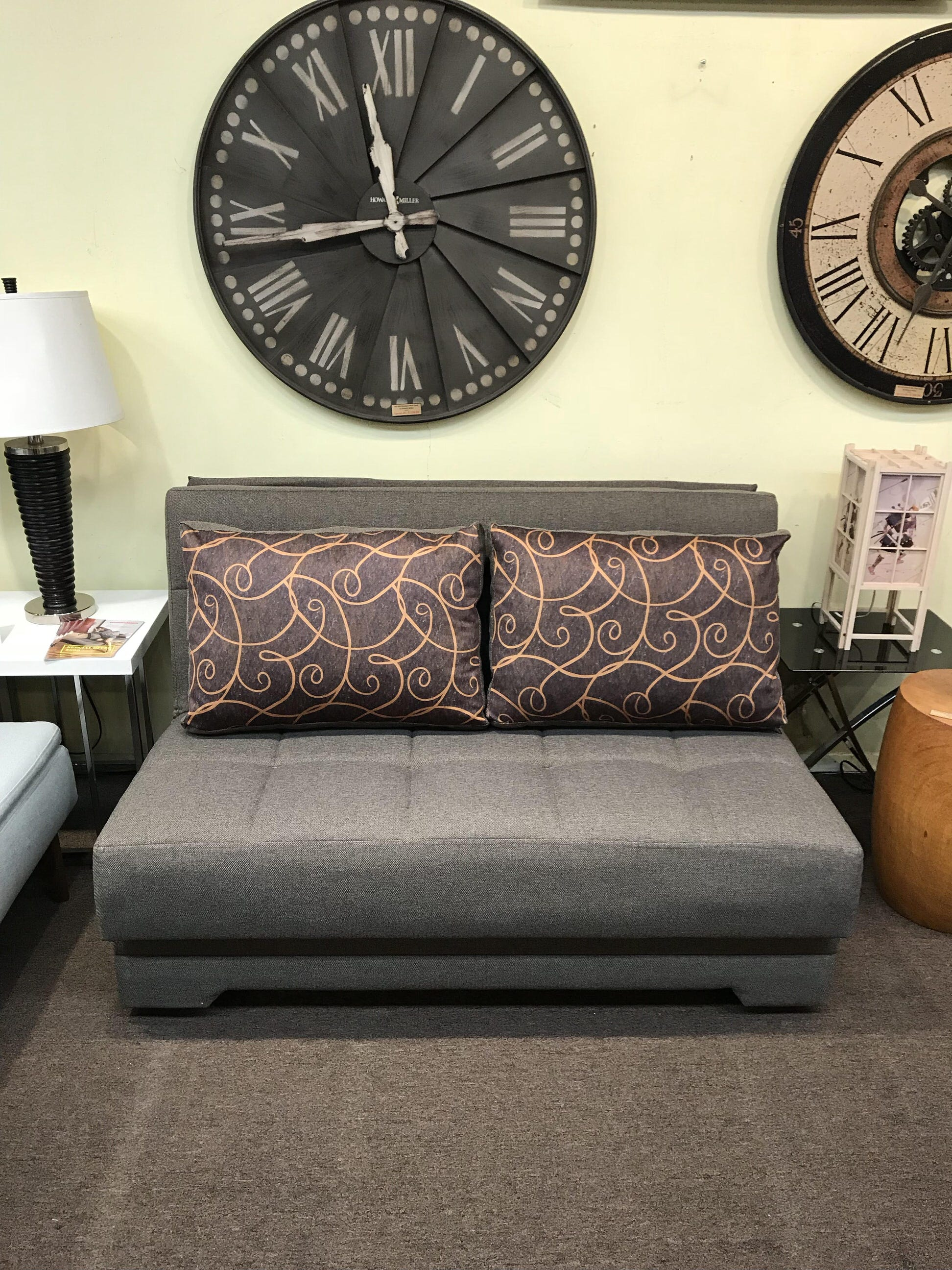 El Paso Twist Light Brown Loveseat Sleeper By Empire