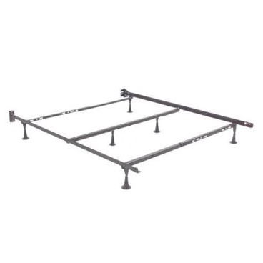 adjustable metal bed frame stb22 full queen king by enso - Full Bed Frame Metal