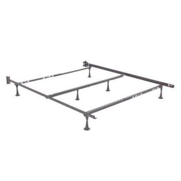 adjustable metal bed frame stb22 full queen king by enso - Adjustable Metal Bed Frame