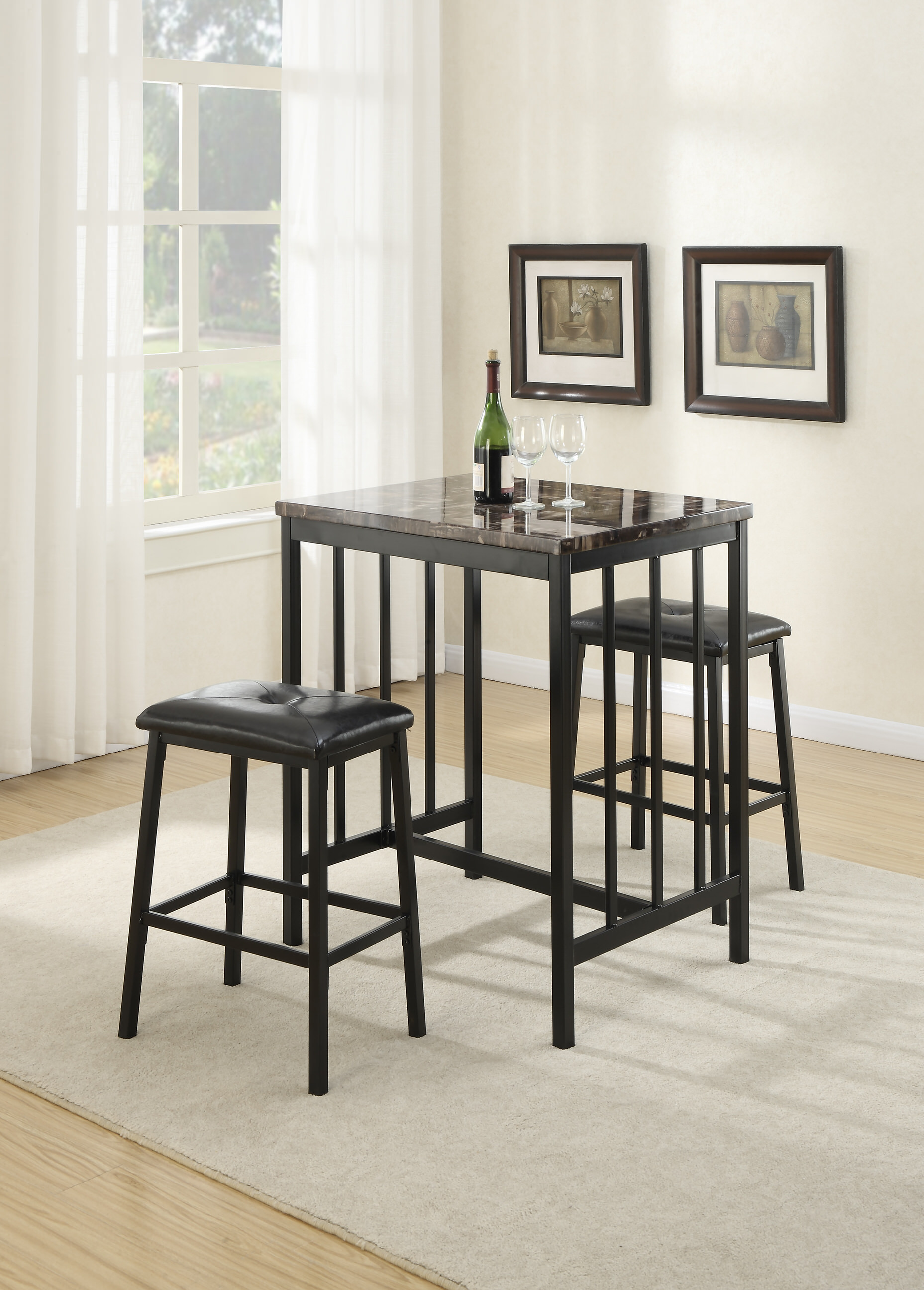 round rectangular tables height gallery table ashley buy furniture pinnadel counter chairs dining and