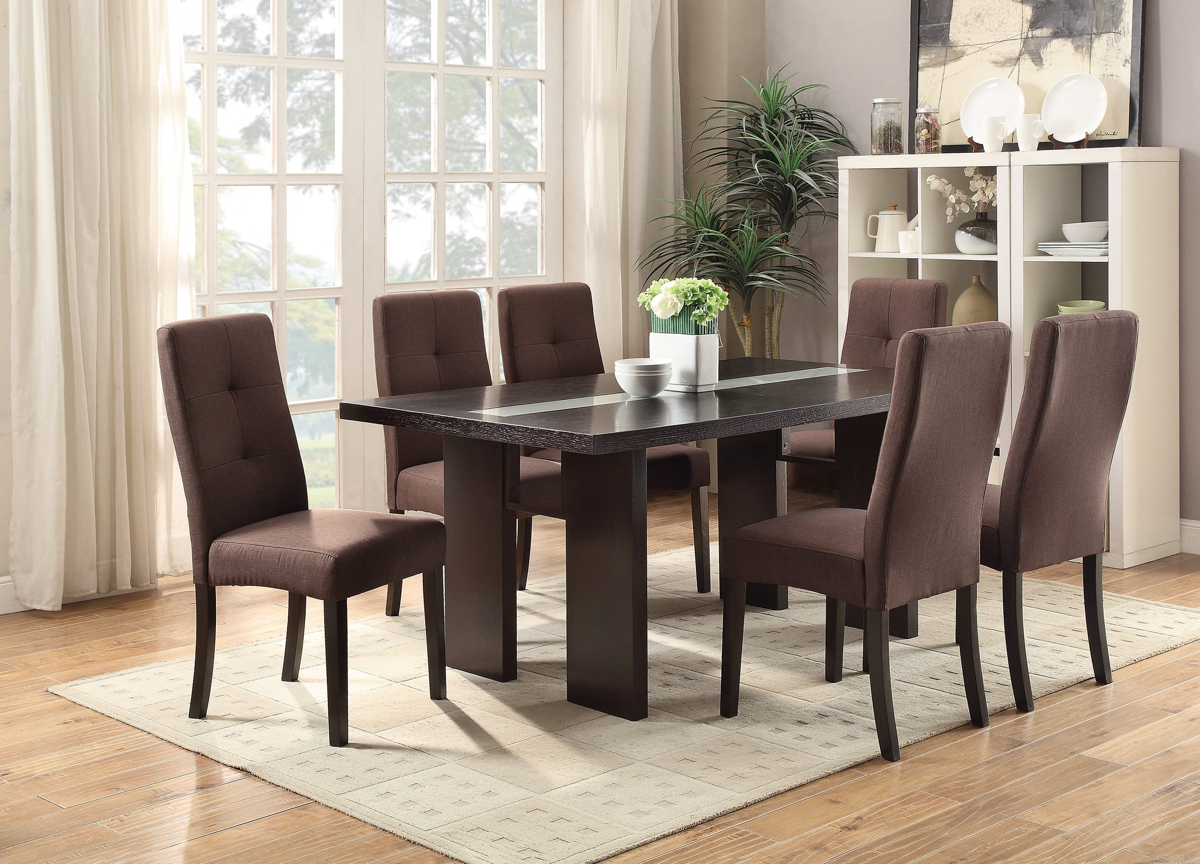 plain espresso kitchen table designashley trishelle dining
